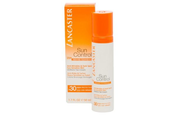 Крем от солнца «Sun Control Anti-Wrinkles And Dark Spots Sun Sensitive Skin Uniform Spf 30»-50