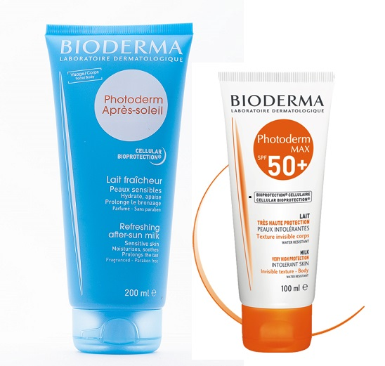Bioderma Photoderm молочко после солнца и до солнца