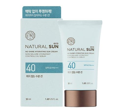 Солнцезащитный крем The Face Shop NATURAL SUN Sebum Control Moisture Sun SPF40 PA