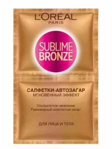 Sublime Bronze Салфетки-автозагар